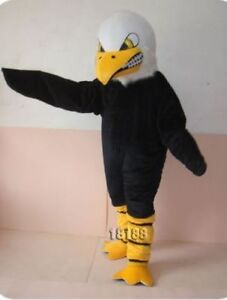Advertising White Head Bald Eagle adults mascot costume fancy dress cosplay new