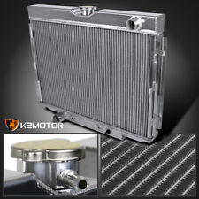 "67-70 Ford Mustang/Falcon V8 3 Core MT 24"" Driver/Left Side Aluminum Radiator"