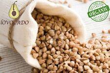 Organic Raw Buckwheat Groats - 500g - 4.5kg - Free P&P / Gluten Free / Lovocado
