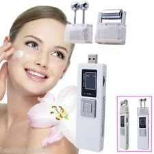 Portable Wireless Galvanic Roller Facial Skin Care Spa Salon Eliminate Wrinkles
