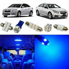 7x Blue LED lights interior package kit for 2011-2015 Chevy Cruze CC2B