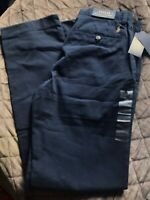 NEW MENS RALPH LAUREN POLO NAVY BLUE CLASSIC FIT 'BEDFORD' CHINOS W30 L34 £125