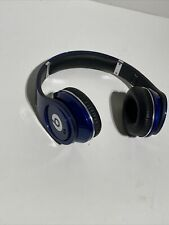 Monster Beats by Dr. Dre Studio Wired Over-Ear Headphones (Blue) No Wire