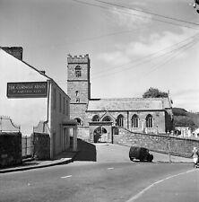 B/W 6x6 Negative St Blazey Cornwall The Cornish Arms 1951+ Copyright redb111