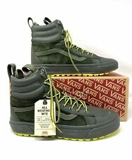 VANS SK8-HI Boot MTE 2 Leather Forest Green Men's Sneakers VN0A4P3GTUC