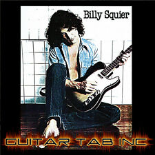 Billy Squier Digital Guitar Tab DON'T SAY NO PDF Lessons on Disc Cary Sharaf