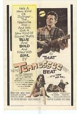 THAT TENNESSEE BEAT Movie POSTER 27x40 Earl 'Snake' Richards Sharon DeBord