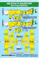 KORA Decals 1/48 MILES M.14H MAGISTER Egyptian Air Force