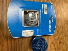 Shure RPW112 SM58 Wireless Microphone Capsule  + new Grill & Windscreen