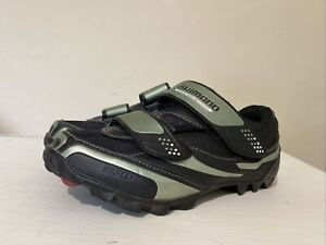 Ladies / Kids Shimano MD 64  SPD cycling shoes with cleats EU 36 UK 2.5