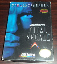 Nintendo NES. Total Recall. CIB (NTSC USA/CAN)