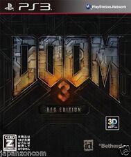 Used PS3 Doom 3 SONY PLAYSTATION 3 JAPAN JAPANESE IMPORT