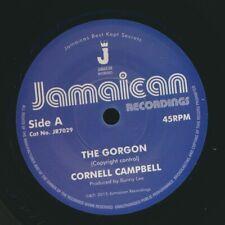 "NEW 7"" Cornell Campbell - The Gorgon  /  Version"