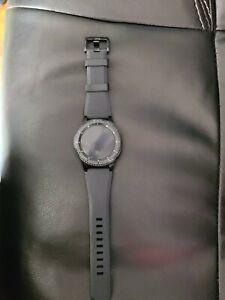 Samsung Gear S3 Frontier 46mm Stainless Steel Case Black Smart Watch - (SM-R760…