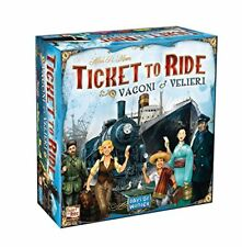 Asmodee Str8520 Ticket to Ride vagoni & velieri
