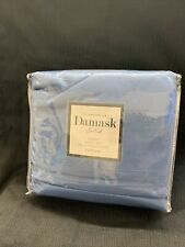 Charter Club Damask Solid 550 Thread Count QUEEN  Sheet Set Blue