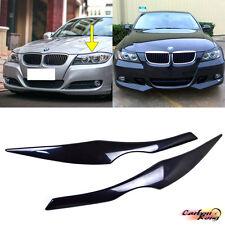 Unpainted 1 Pair BMW 3-Series E90 Sedan Front Eyelids Headlight Cover 2008 328i