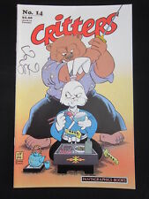 Critters 14 Usagi Yojimbo Signed Stan Sakai COA