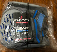 Bsn Sports Gear Pro-Tec 5-Pad Adult Football Gray Girdle Small- New