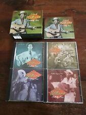 Hank Williams - Hillbilly Hero Box + Booklet 4x Cd Perfetti Mint
