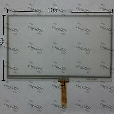 Touch Screen Digitizer Resistance Panel For 4.3'' MLS Destinator 4800A
