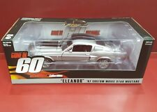 1:18 GREENLIGHT - 1967 MUSTANG GT500E - ELEANOR - GONE IN SIXTY SECONDS