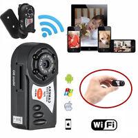 720P Q7 Mini HD Wlan CAM Wifi IP IR Netzwerk Kamera Funk Überwachungskamera Heiß