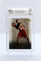 2003 Upper Deck LEBRON JAMES #14 - ROOKIE CARD RC - BECKETT BCCG 10 Mint Box Set