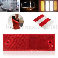 White Red Warning Reflective Safety Plate/Tape Reflector Stickers For Car Truck