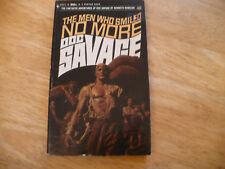 "DOC SAVAGE # 45 ""THE MEN WHO SMILED NO MORE"" - 1ST PRTG 2/70 -  NICE BANTAM PB"