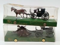 Brumm 1/43 Scale BR2HC - 2x Historical Horse & Carriages