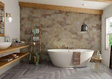 Bengal Beige Natural Stone/Slate effect Porcelain bathroom Wall Floor Tiles