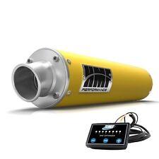 HMF Performance Slip On Exhaust Pipe Yellow + Optimizer Renegade 500 2008 - 2012