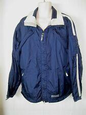 Women's Burton Snowboards Blue Nylon Snowboard Jacket Size: Lg GUC!