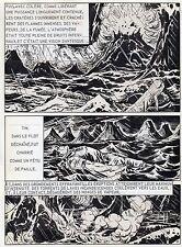 BOB LEGUAY METAMORPHOSE PLANCHE ORIGINALE TIM L'AUDACE ANNEES 1950 PAGE 22