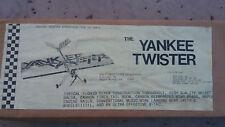 RARE VINTAGE Florio Flyer Yankee Twister R/C Airplane Kit