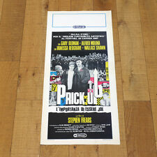 PRICK UP L'IMPORTANZA DI ESSERE JOE locandina poster Your Ears Gary Oldman AN96