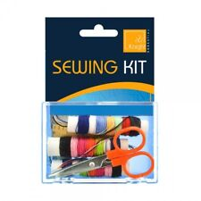 Travel Sewing Sewing Kit Safety & Ball Head Scissors needles Cotton Thread set