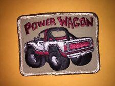 Vintage Dodge Power Wagon patch, Dodge truck patch, Power wagon patch
