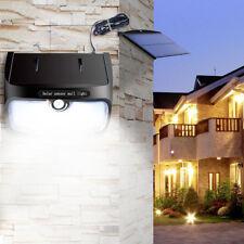 48 LED STACCABILE LAMPADA SOLARE SENSORE MOVIMENTO DA ESTERNO GIARDINO FARETTO