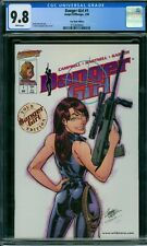 Danger Girl 1 CGC 9.8 - White Pages - Tour Book Edition