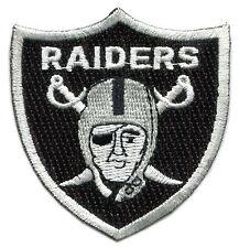 "OAKLAND RAIDERS NFL FOOTBALL 2.5"" SHIELD TEAM LOGO PATCH"