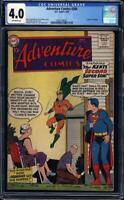 Adventure Comics #260 cgc 4.0 1st Silver-Age app & Origin AQUAMAN