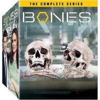 DVD Bones Complete Series Classic Scenes Entire Show 1-12 Seasons Action Drama