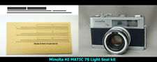 【NEW】Light Seal Kit(3sets) for Minolta  HI MATIC 7S from Japan 881