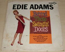 EDIE ADAMS BEHIND THOSE SWINGIN' DOORS ALBUM 1964 MONO DECCA RECORDS DL 34092