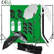 Pro Photography Photo Studio Umbrella Continuous Lighting Light Stand Kit Set UK