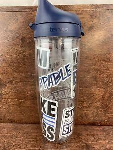 Tervis Fitness Sticker 24oz Water Bottle