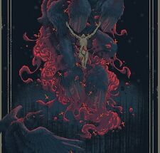 Deliciously Wicked Foil Variant The Witch Pighands Lk Mondo Poster Blacklight