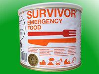 (26,47€/kg)  SURVIVOR® Emergency Food Kartoffelpüree mit Milch - 15 Jahre MHD